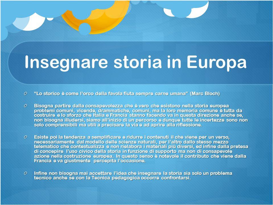 L'Esabac e l'Europa Nella sfida per la costruzione della cittadinanza europea l'Esabac appare con una sua specifica peculiarità.