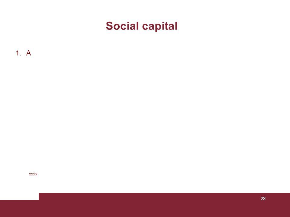 28 Social capital xxxx 1.A