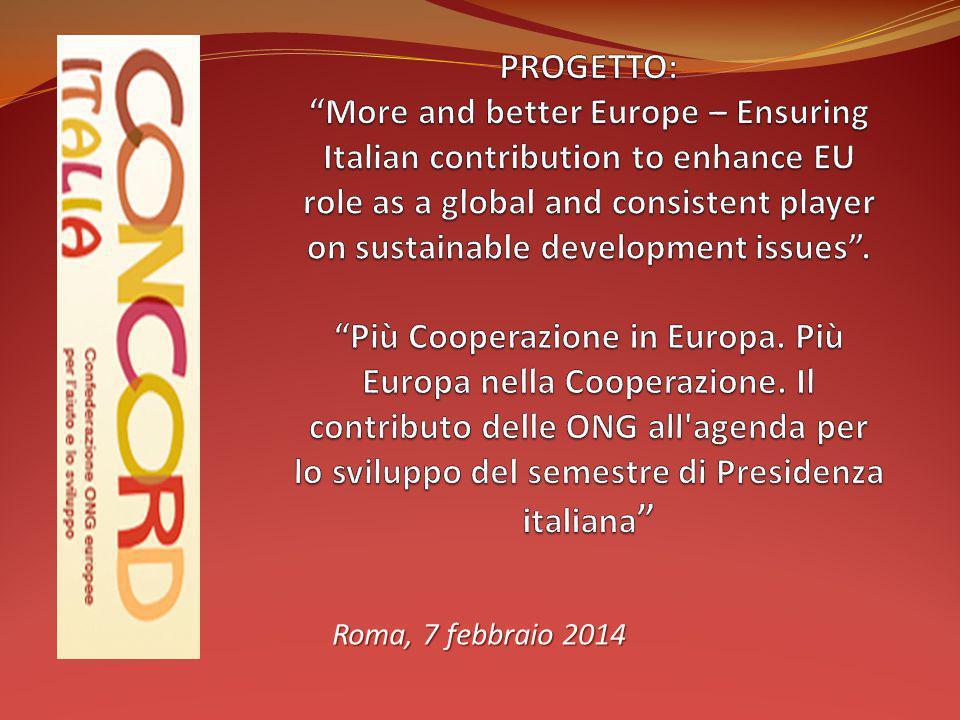 Roma, 7 febbraio 2014