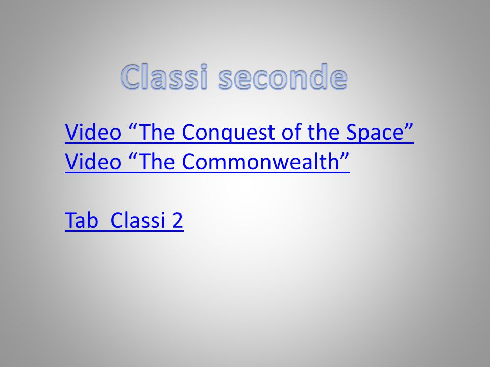 Video The Conquest of the Space Video The Commonwealth Tab Classi 2