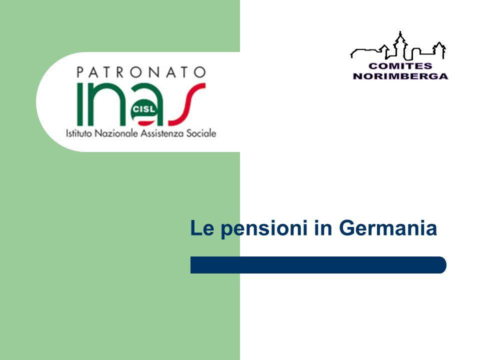 Le pensioni in Germania
