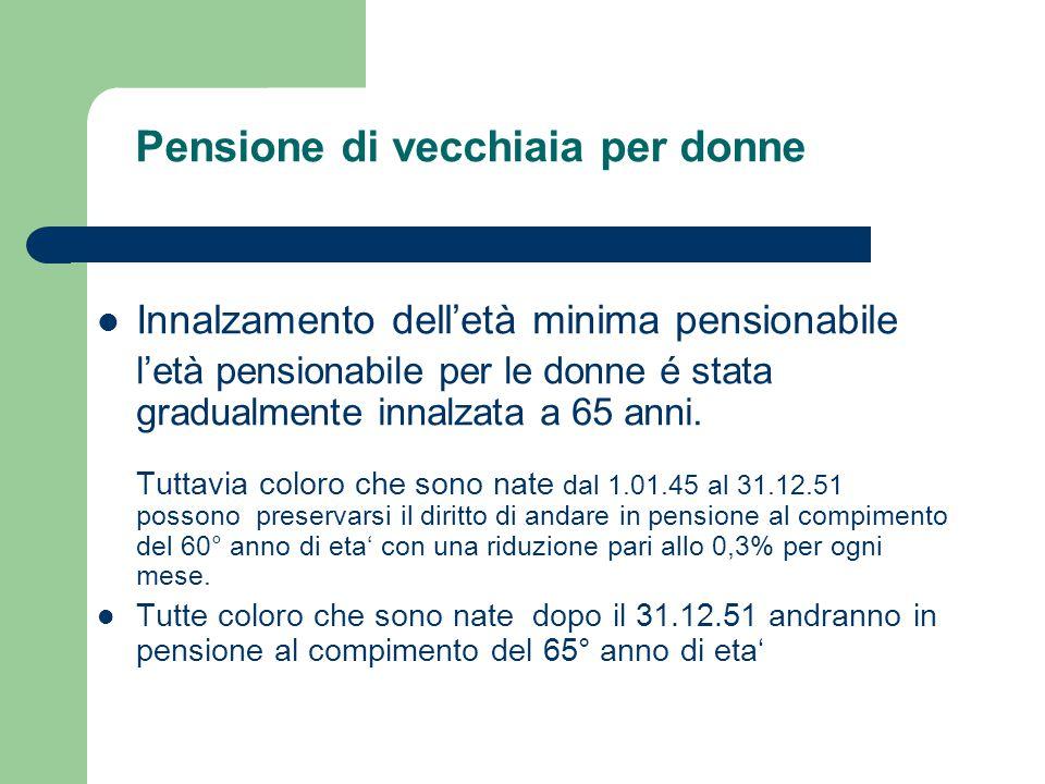 La pensione di vecchiaia per aver maturato 35 anni di contributi viene concessa a coloro che: - hanno compiuto il 63° anno di età; - hanno versato 35 anni di contributi assicurativi (ai fini del diritto sono validi tutti i tipi di contribuzione).