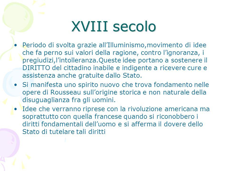 IN ITALIA Ritardo nella nascita della previdenza sociale (ultimi due decenni 800 e la 1 guerra mondiale) causa: 1.