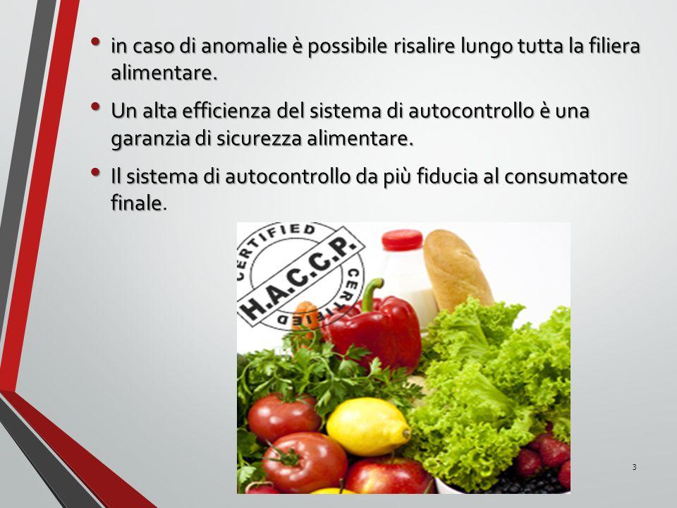 in caso di anomalie è possibile risalire lungo tutta la filiera alimentare. in caso di anomalie è possibile risalire lungo tutta la filiera alimentare