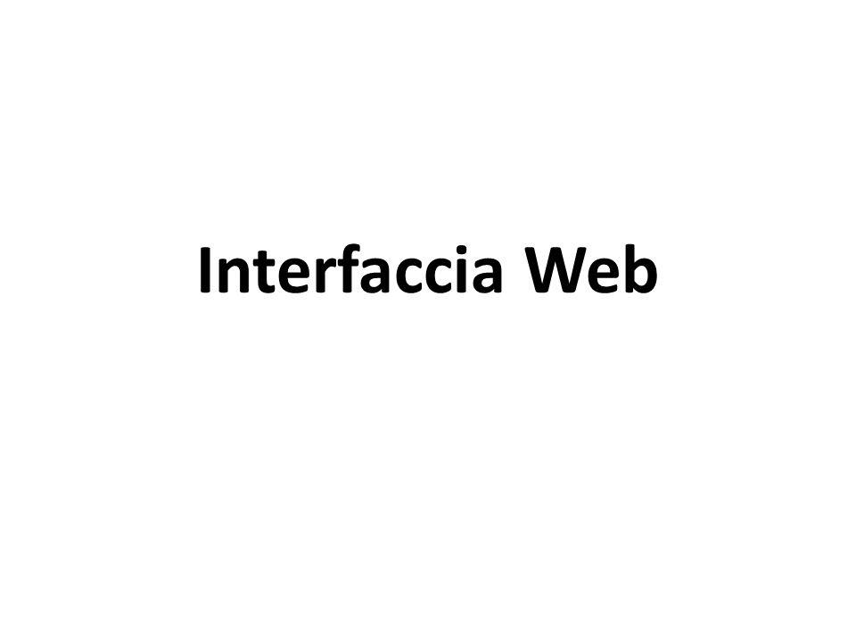 Interfaccia Web