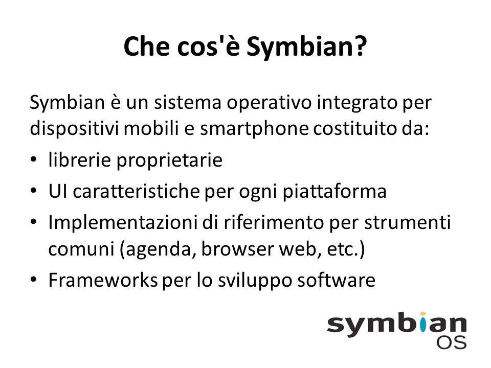 Che cos è Symbian.