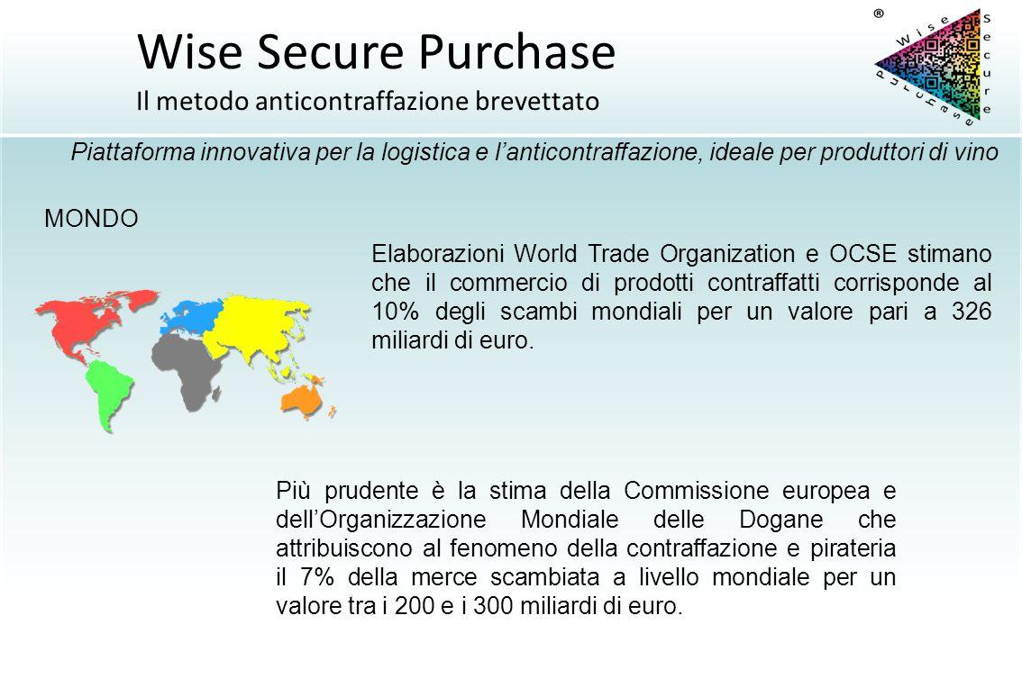 MONDO Più prudente è la stima della Commissione europea e dell'Organizzazione Mondiale delle Dogane che attribuiscono al fenomeno della contraffazione