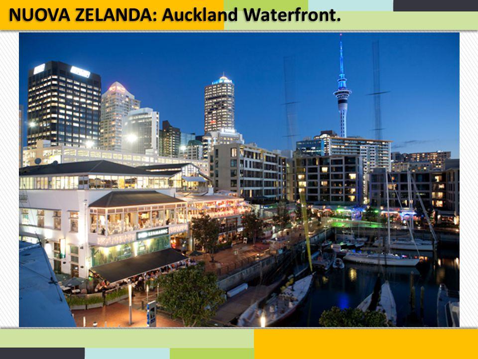 NUOVA ZELANDA: Auckland Waterfront.