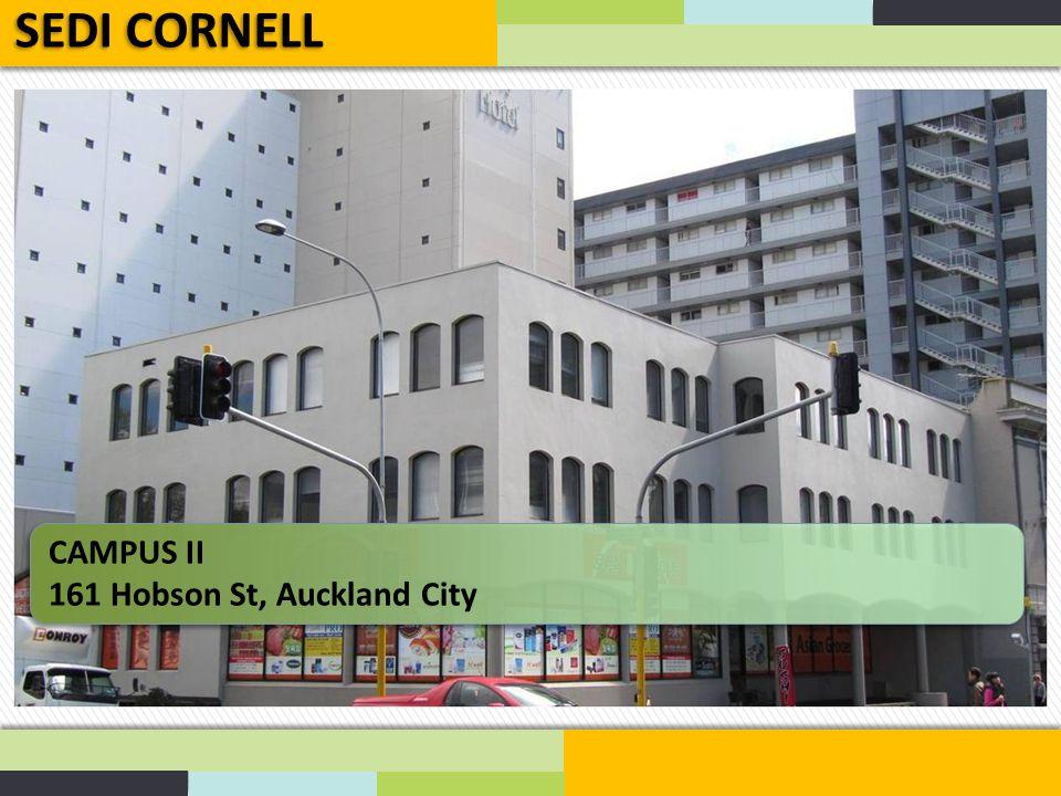 CAMPUS III 360 Queen Street, Auckland City SEDI CORNELL