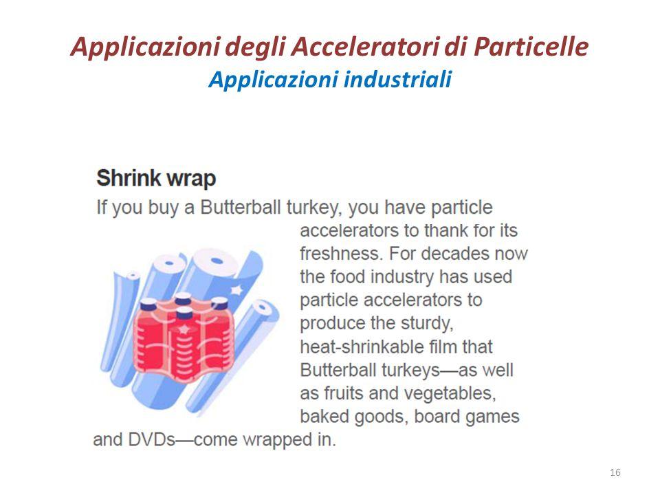Applicazioni degli Acceleratori di Particelle Applicazioni industriali Marisa Valdata Dottorato 201416