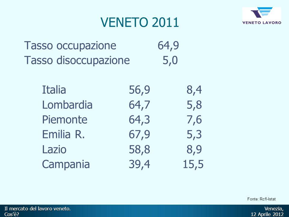 Il mercato del lavoro veneto.Venezia, Cos'è.