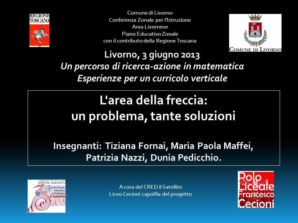 Comune di Livorno Conferenza Zonale per l'Istruzione Area Livornese Piano Educativo Zonale con il contributo della Regione Toscana A cura del CRED il