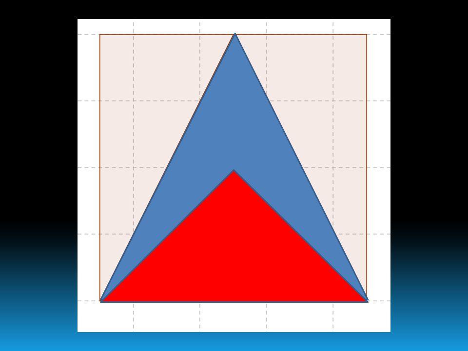 Strategie risolutive 3. Somma delle aree dei triangoli ottusangoli congruenti