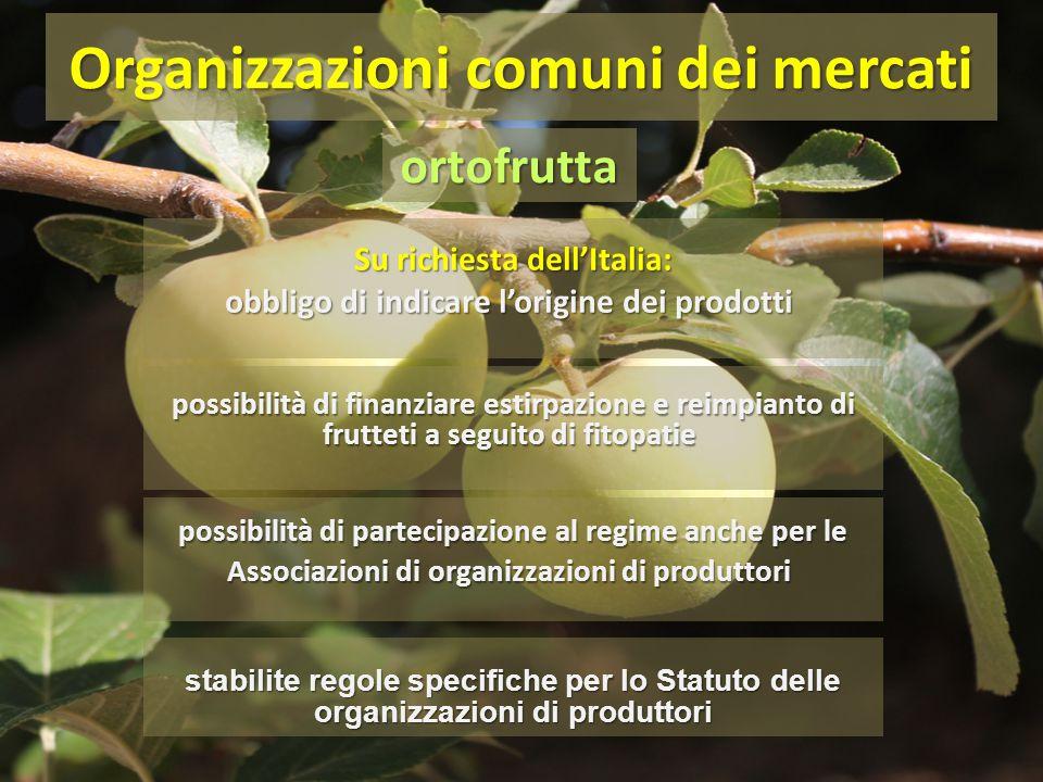 Su richiesta dell'Italia: obbligo di indicare l'origine dei prodotti Su richiesta dell'Italia: obbligo di indicare l'origine dei prodotti Organizzazio