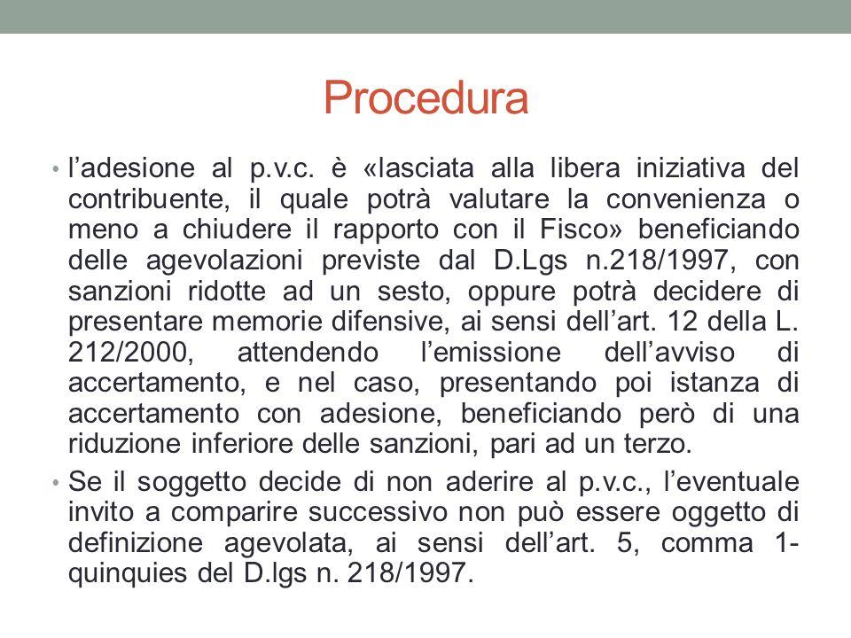 Procedura l'adesione al p.v.c.