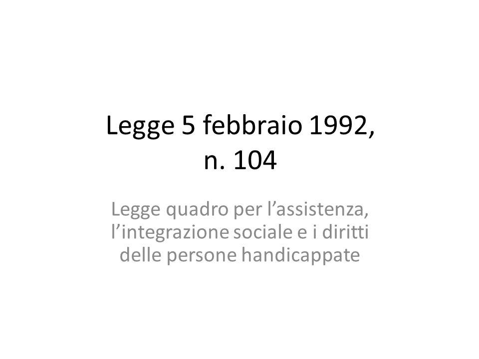 Legge 5 febbraio 1992, n.
