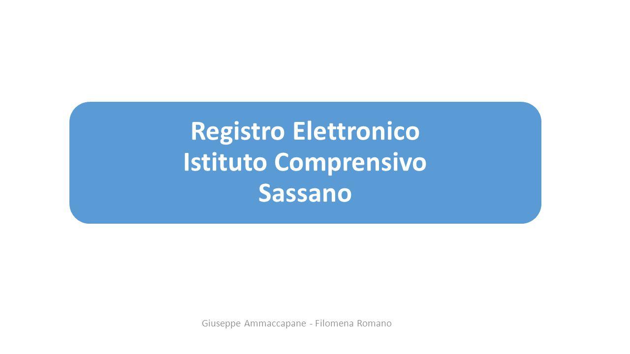 Registro Elettronico Istituto Comprensivo Sassano Giuseppe Ammaccapane - Filomena Romano
