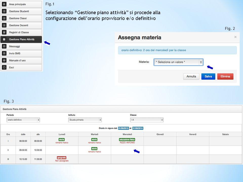 L'utente segreteria, così come l'utente docente, ha la possibilità di accedere a tutti i registri di classe dell'istituto