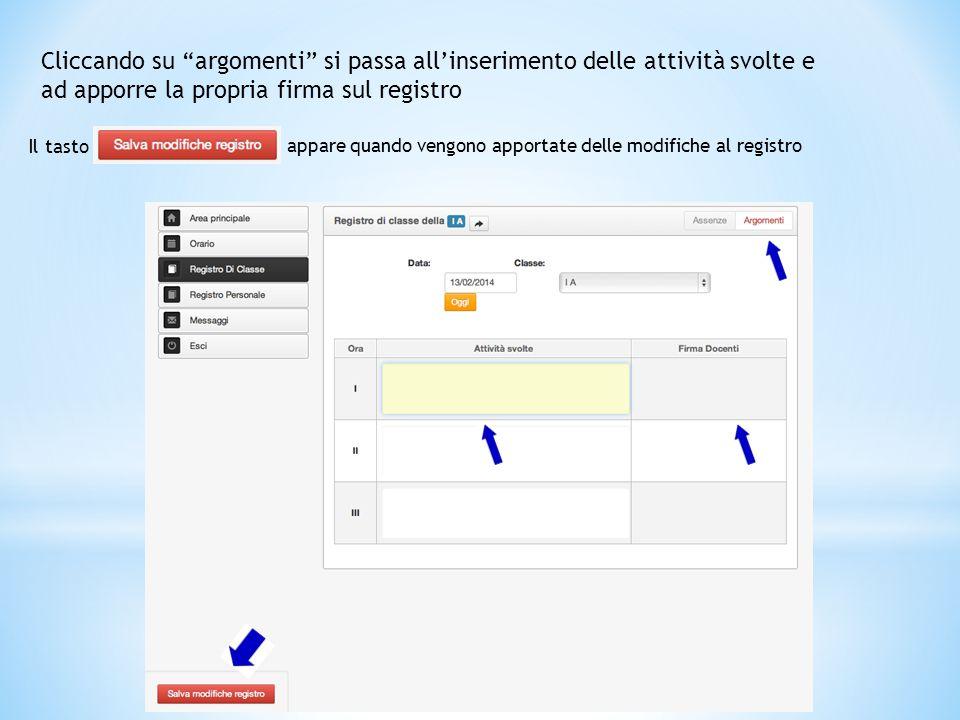 """Registro di classe Con dei semplici """"click"""" è possibile fare l'appello, assegnare assenze, entrate in ritardo e/o uscite anticipate, giustificare asse"""