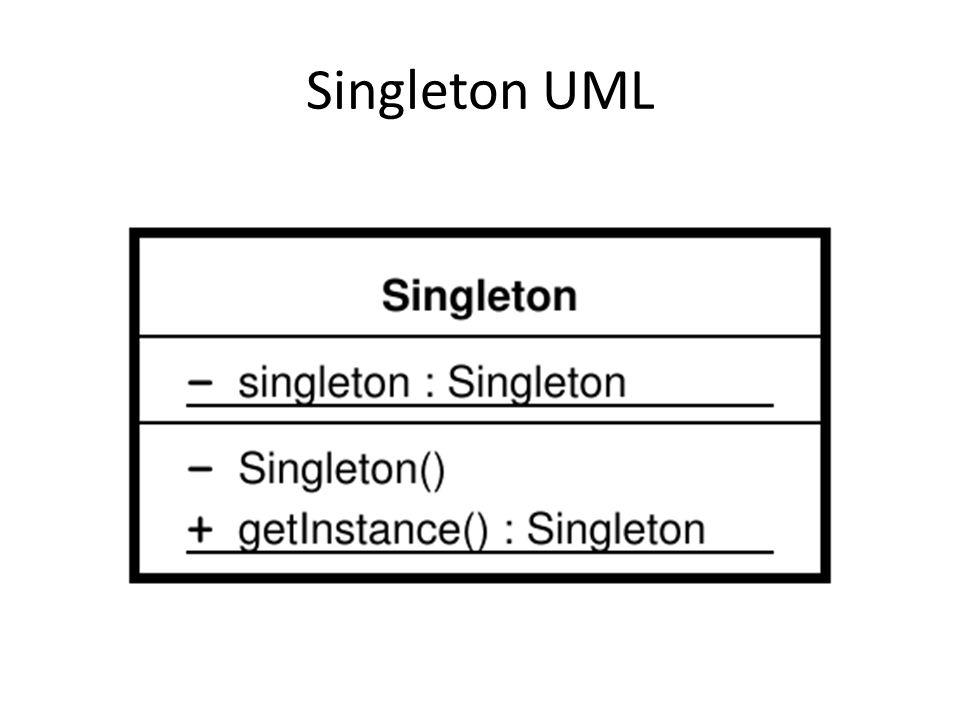 Singleton UML