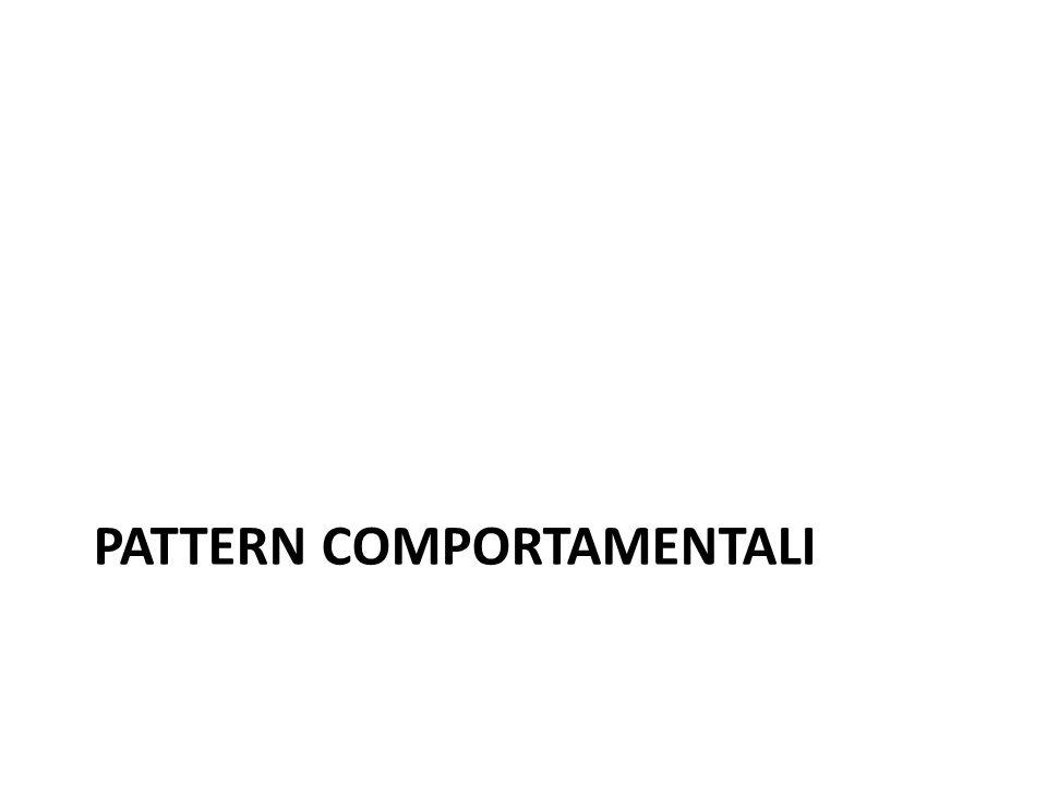 PATTERN COMPORTAMENTALI
