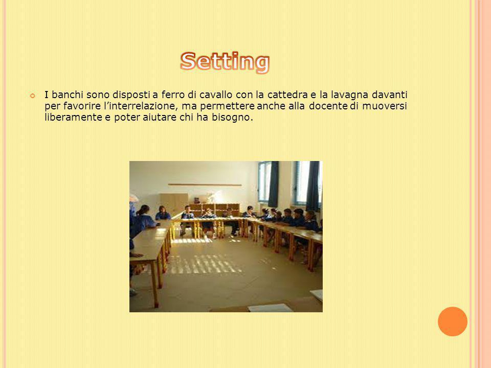 L'insegnante è una figura attiva che si pone come complice e dimostra una carica empatica elevata per cercare di entrare in sintonia con gli allievi.