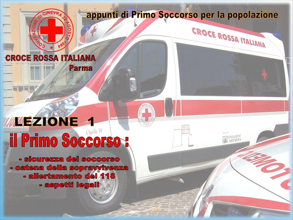 Il primo soccorso è la prima assistenza che si presta ad un ferito in attesa dei soccorsi.