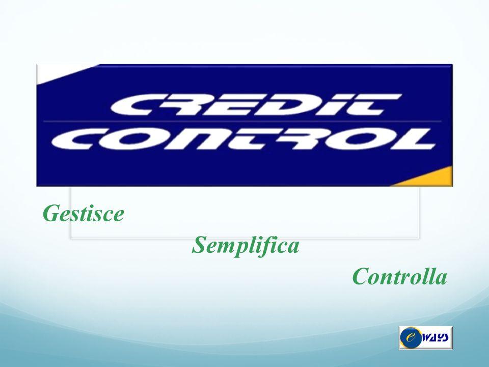 Sezione Procedure Concorsuali La classificazione permette all'utente di determinare ogni elemento di valutazione del credito, fornendo una completa e dettagliata panoramica del contenzioso aziendale.