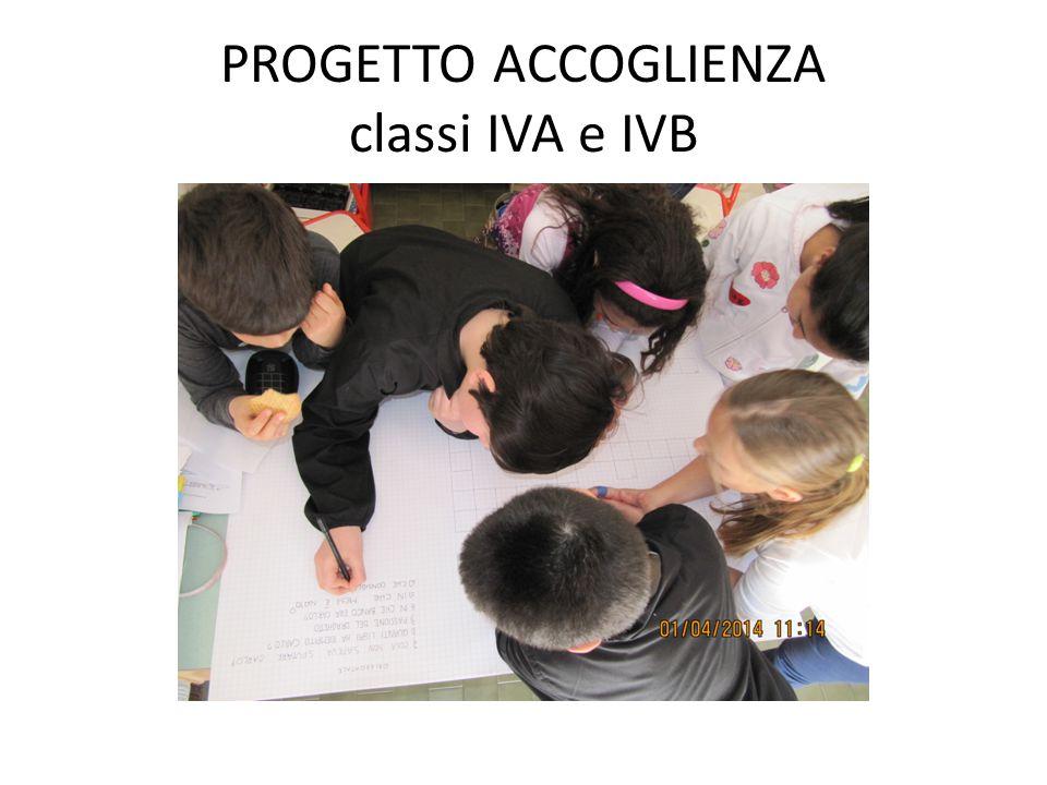 PROGETTO ACCOGLIENZA classi IVA e IVB
