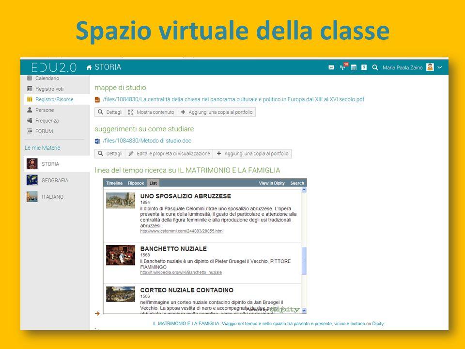 Spazio virtuale della classe