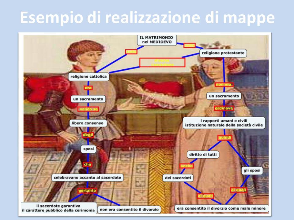 Esempio di realizzazione di mappe