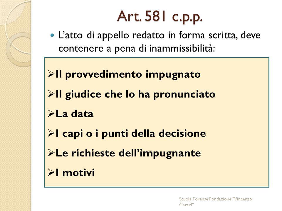 Art.581 c.p.p.