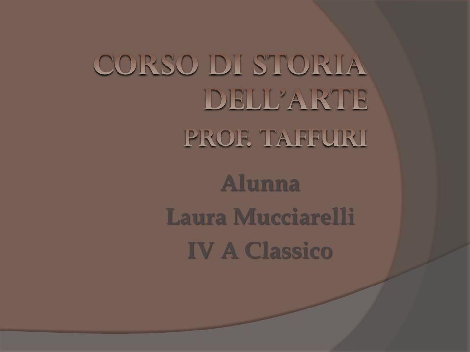 Alunna Laura Mucciarelli IV A Classico