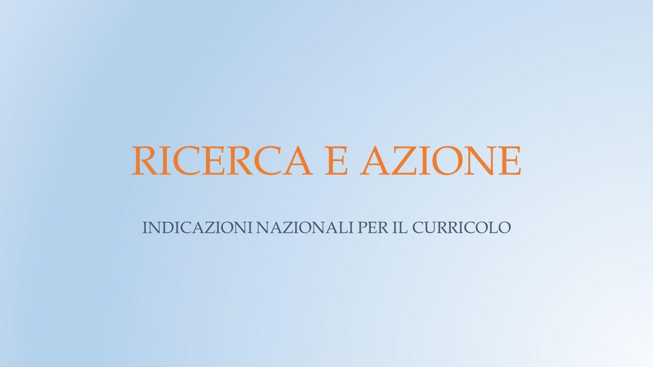 PREMESSA Alla luce delle Nuove Indicazioni Nazionali per il curricolo della scuola dell'infanzia e del primo ciclo di istruzione e delle relative misure di accompagnamento 2013-2014, l'Istituto Comprensivo S.