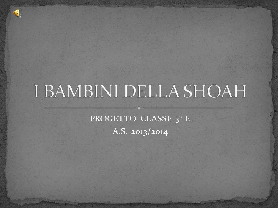 PROGETTO CLASSE 3° E A.S. 2013/2014