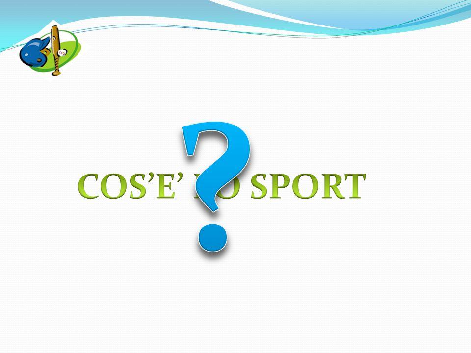 secondo la Carta Europea dello Sport redatta dal Consiglio d'Europa (1992) Art.
