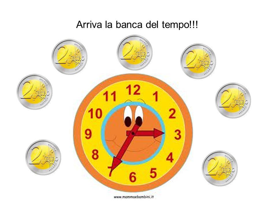 Arriva la banca del tempo!!!
