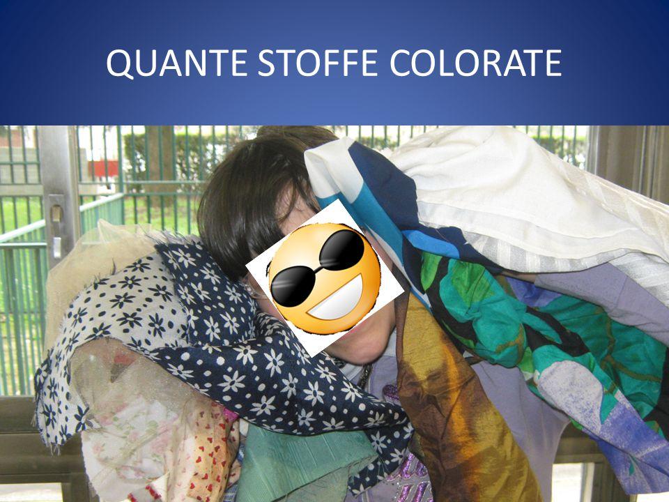 QUANTE STOFFE COLORATE