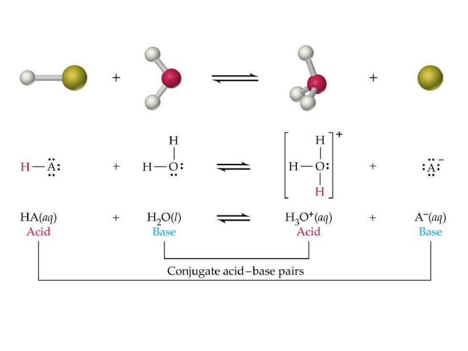 Sostanze anfotere o anfoliti = possono essere donatori o accettori di protoni a seconda delle condizioni Es.