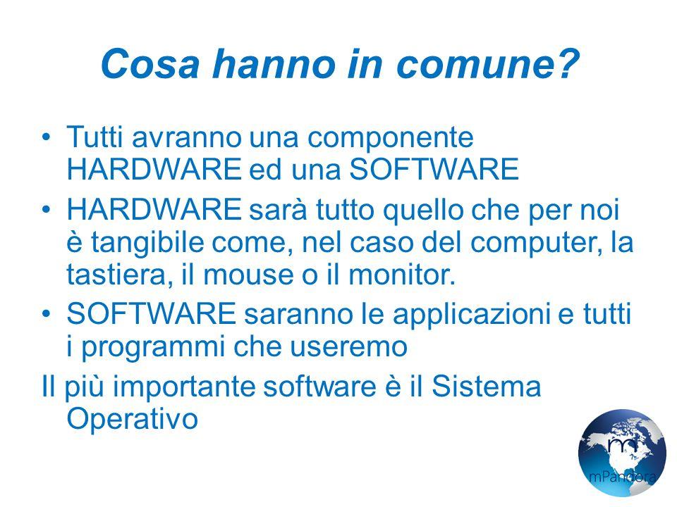 Sistema Operativo I sistemi operativi hanno il compito di renderci facile la vita.