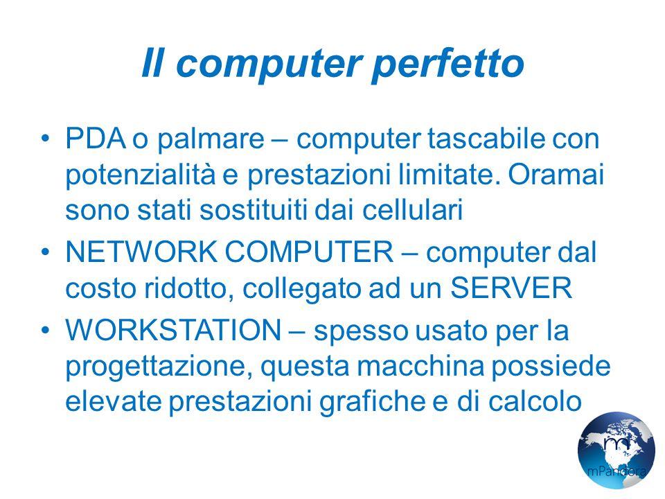 Il computer perfetto A concludere questa lista è il TERMINALE.