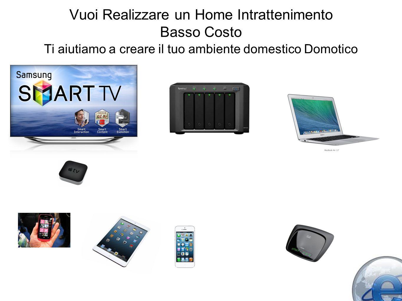 Vuoi Realizzare un Home Intrattenimento Basso Costo Ti aiutiamo a creare il tuo ambiente domestico Domotico
