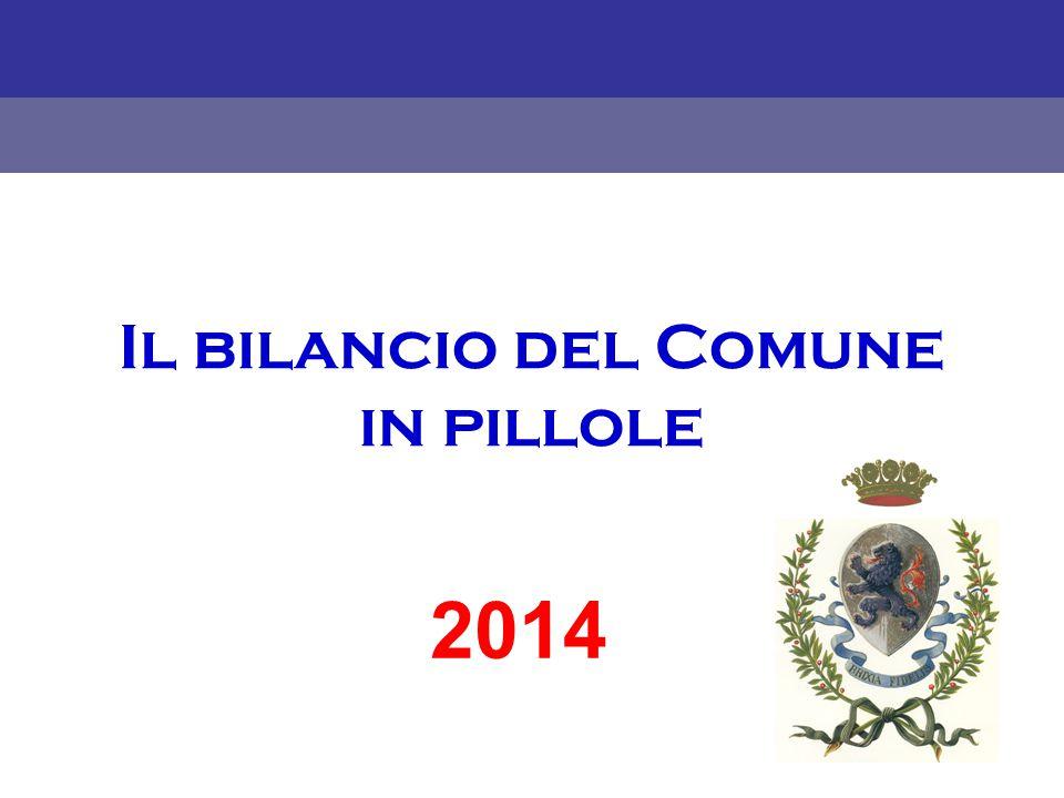 Il bilancio del Comune in pillole 2014