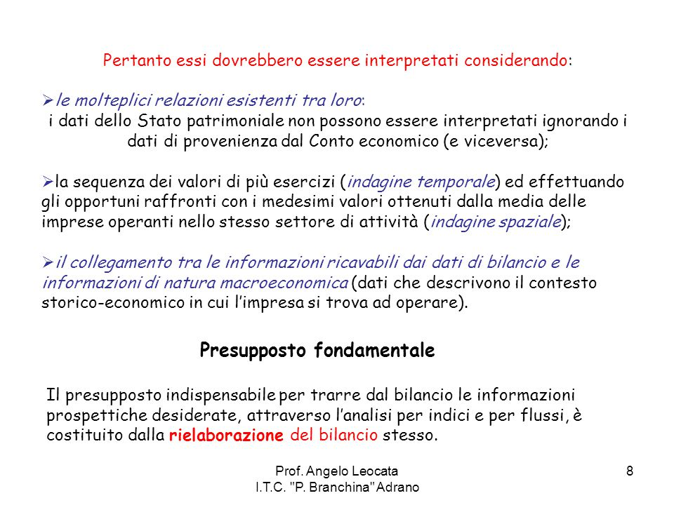 Prof.Angelo Leocata I.T.C. P. Branchina Adrano 19 2.