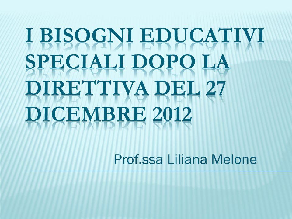 Prof.ssa Liliana Melone