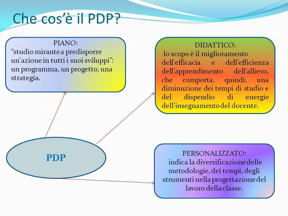 Che cos'è il PDP.