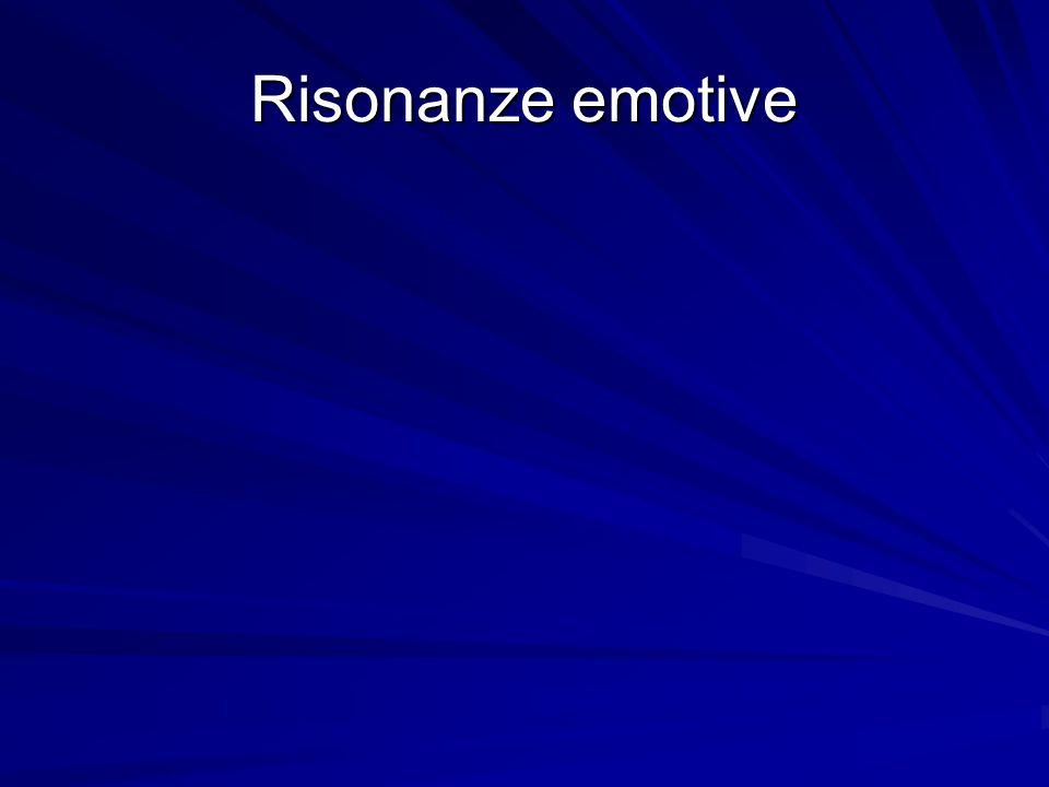 Risonanze emotive
