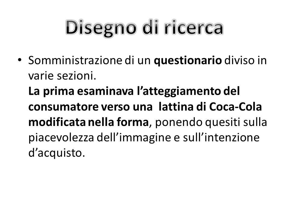 Ulteriori analisi Dicotomizzazione Bisogno di Chiusura Cognitiva (in alta e bassa) e Concetti (in positivi e negativi) associati a Coca Cola.