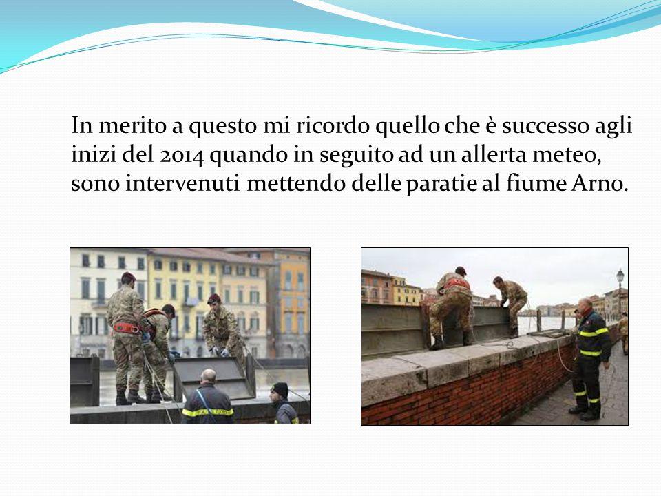 Molto molto importante è anche il compito che svolgono tutti coloro che fanno parte della Protezione Civile Si occupa dell'attività di prevenzione e s