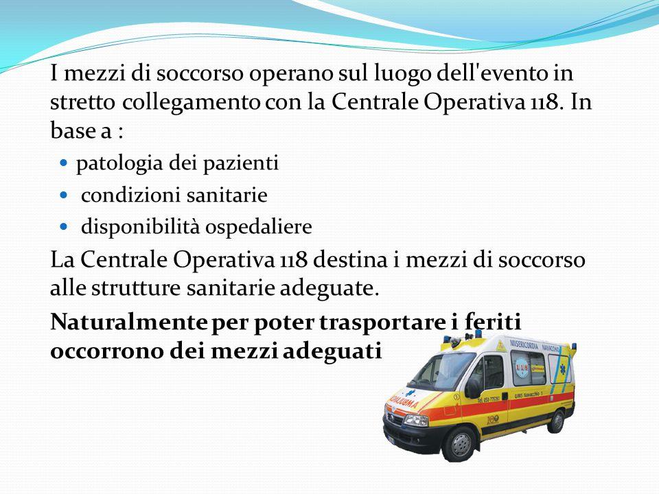 Attraverso il computer l'operatore individua il luogo esatto dell'incidente e verifica la disponibilità delle ambulanze da poter inviare sul posto. In